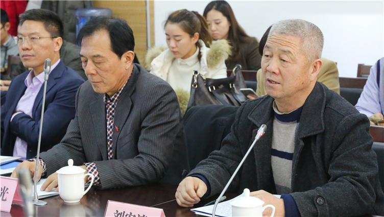 联合国科学与和平贡献奖获得者、陕西文化软实力研究会会长刘宏涛