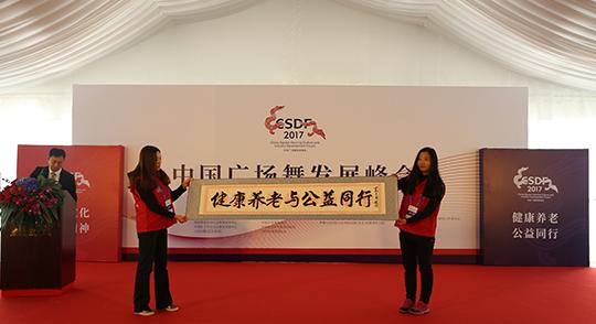 中国广场舞峰会举行 发展公益践行健康中国战略