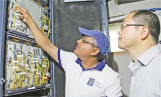 歷經三年半 中尼跨境互聯網光纜正式開通