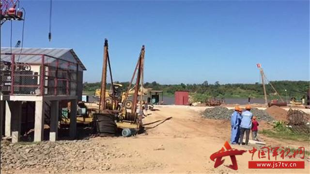 中國在柬埔寨援建第八座大橋正式開工