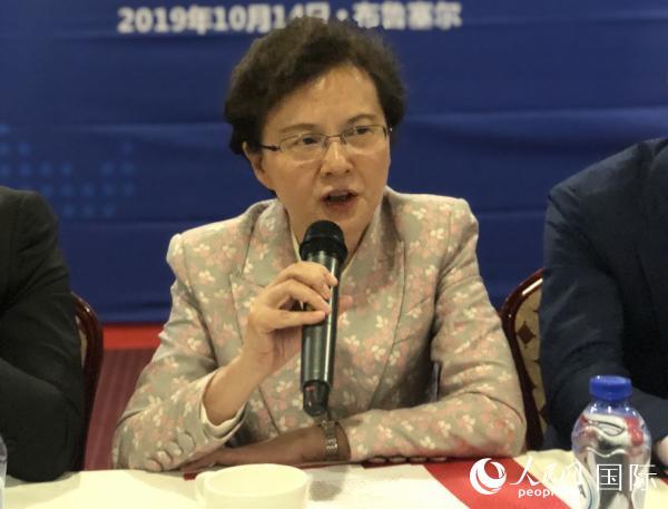 新时代新青年新作为——华侨华人青年与一带一路座谈会在布鲁塞尔举行